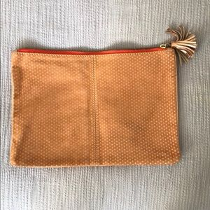 Anthro two-sided clutch